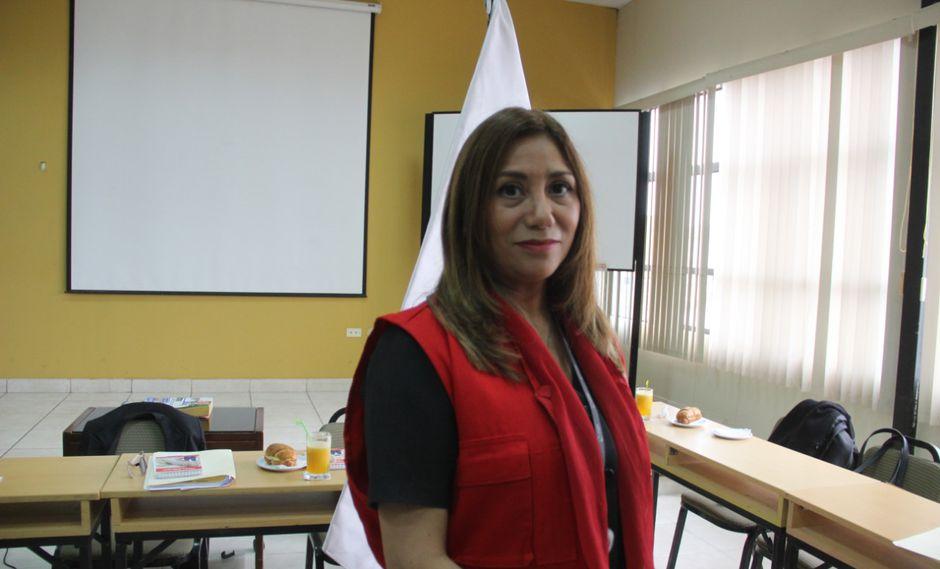 La supervisora de la Contraloría, Silvia Pajares, dio detalles de la investigación.