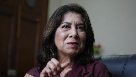 Martha Chávez participó en la Subcomisión de Acusaciones Constitucionales (GEC).