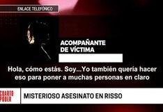 Lince: Mujer que acompañaba a Isaac Hilario en el local de McDonald's de Risso se pronunció al ser implicada en el crimen