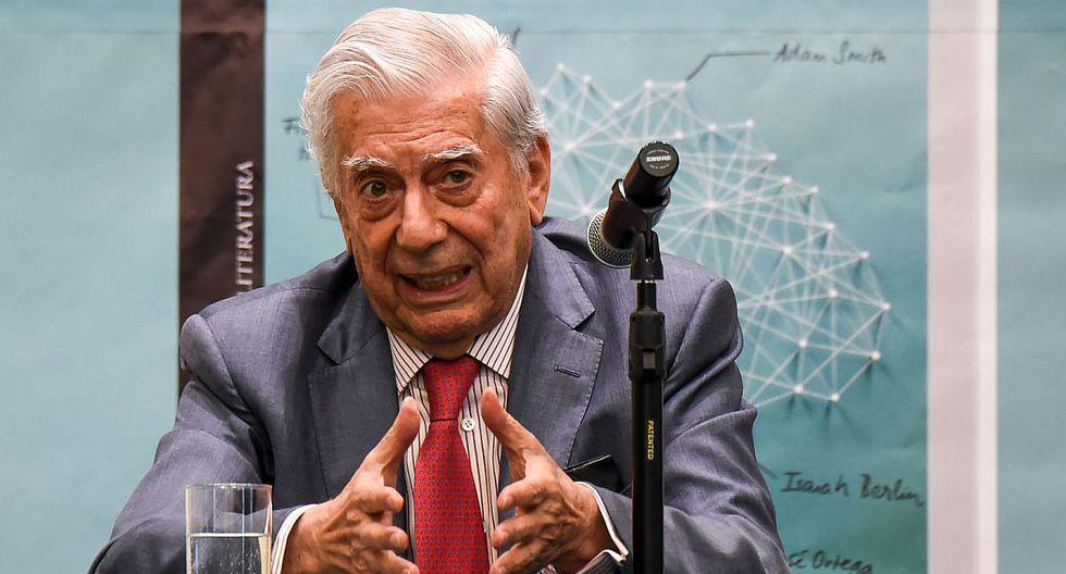 Mario Vargas Llosa publica un cuento inédito protagonizado por Aitana Sánchez Gijón. (Foto: AFP)
