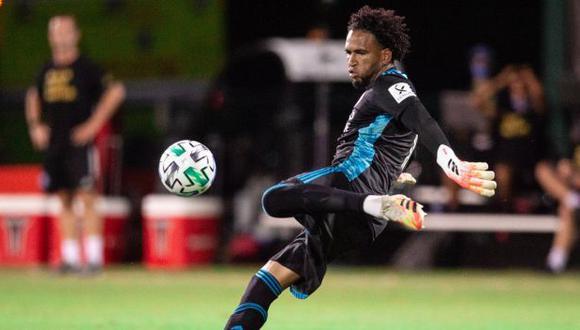 Pedro Gallese llegó al Orlando City a inicios del 2020 tras una temporada en Alianza Lima. (Foto: Orlando City)