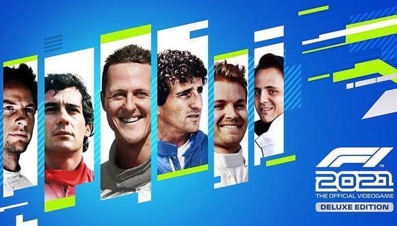 Viejas glorias estarán presentes en la edición digital de lujo de 'F1 2021'