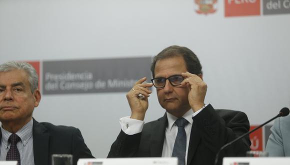 Francisco Ísmodes, ministro de Energía y Minas. (Foto: USI)