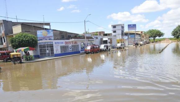 Río no crecía tanto desde el fenómeno El Niño. (Johnny Obregón)