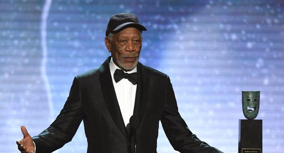 Morgan Freeman perdería su premio SAG tras denuncias de acoso sexual | Foto: AFP