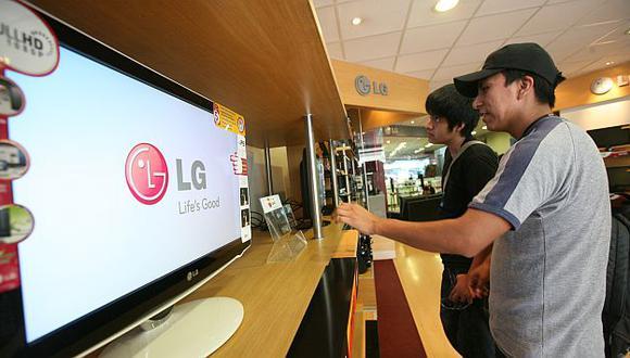 Los nuevos modelos de televisores impulsarán la línea marrón. (USI)