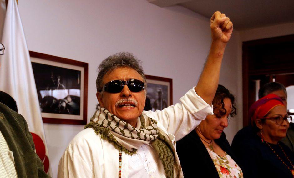 """El ex líder de las FARC Seuxis Paucias Hernández, alias """"Jesús Santrich"""". (Foto: EFE)"""