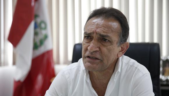 Héctor Becerril también opinó que la Comisión de Ética debe ser reestructurada. (USI)