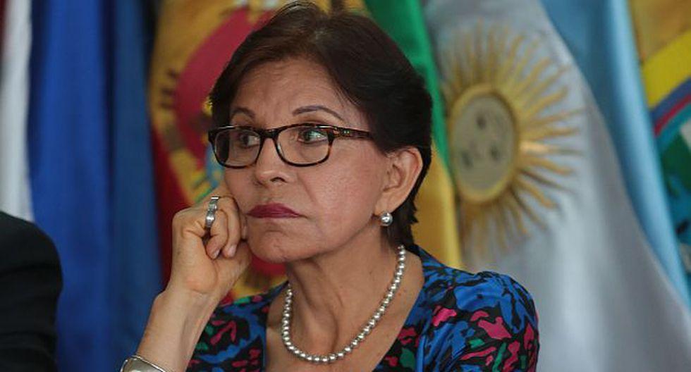 Mercedes Cabanillas será citada a comisión Orellana. (USI)