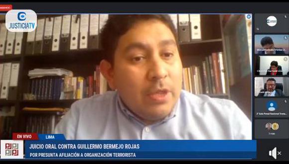 Trinidad Abarca fue testigo de Bermejo. (Justicia TV)