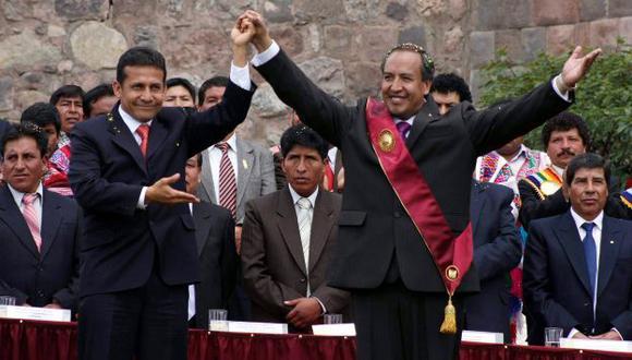 ¿EL SUCESOR? Pese a sus antecedentes, Humala 'sondeó' a Acurio. (Percy Hurtado/USI)
