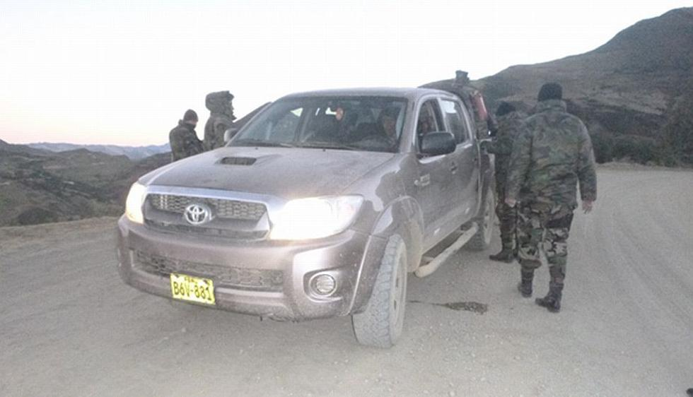 La Policía decomisó más de 84 kilos de PBC camuflados en una camioneta en Ayacucho. (Difusión)