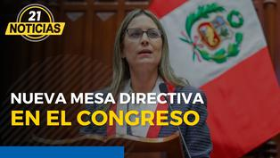 Nueva Mesa Directiva en el Congreso