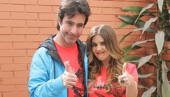 Carlos Carlín se siente feliz de que Johanna San Miguel esté fuera de la televisión. (USI)