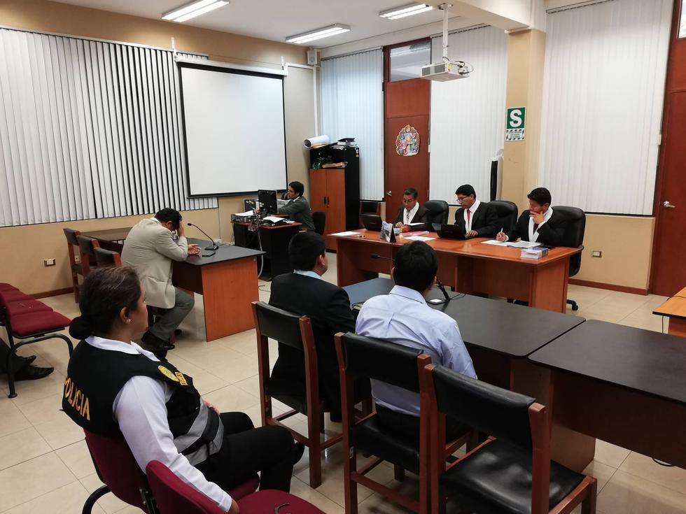 Juzgado Penal Colegiado Supraprovincial de Arequipa sentenció a cadena perpetua a Pablo Acsaraya. (Miguel Idme)