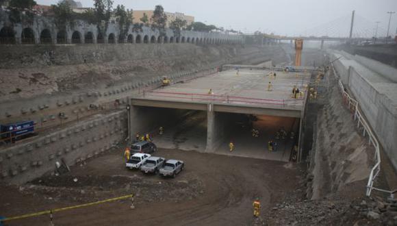 Continúan trabajos en el río. (Martín Pauca)