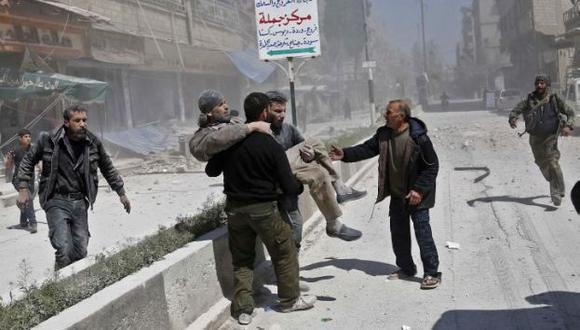 Bombardeo con químicos se llevó a cabo el martes (AFP)