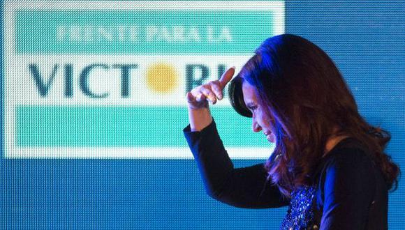 Cristina Fernández. (AFP/Referencial)