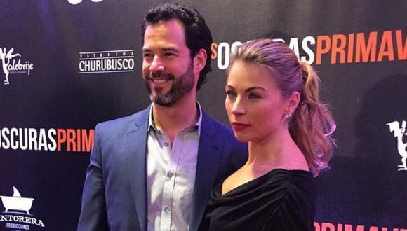 La actriz Ludwika Paleta le mostró su apoyo incondicional a su esposo Emiliano Salinas tras ser denunciado por tráfico sexual. (Foto: Instagram de Ludwika Paleta)