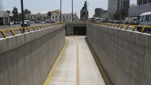 En espera. Acceso está listo, pero Lima no implementa paraderos. (Mario Zapata)