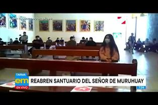 Tarma: Santuario del Señor de Muruhuay reabre con medidas de bioseguridad