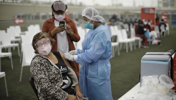 El pasado 16 de abril se dio inicio al nuevo plan nacional de vacunación contra el COVID-19 en el país  (Foto: Joel Alonzo/@photo.gec)