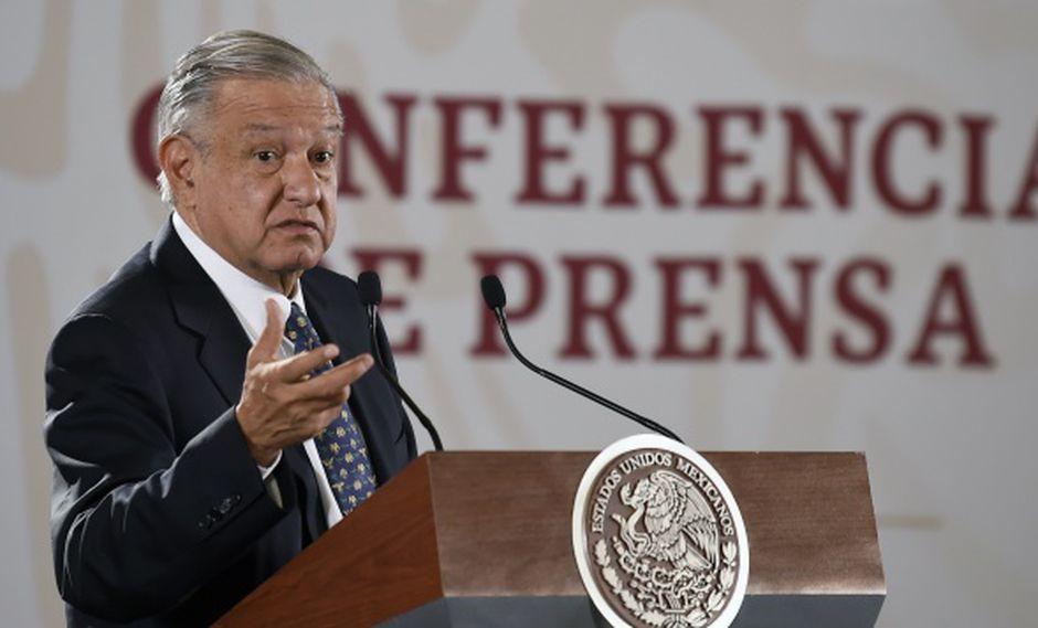 """AMLO estima que la fortuna del capo sería menor que la calculada, aseguró también que """"todo lo que se confisque y que tenga que ver con México se tiene que devolver a México"""". (Foto: AFP)"""