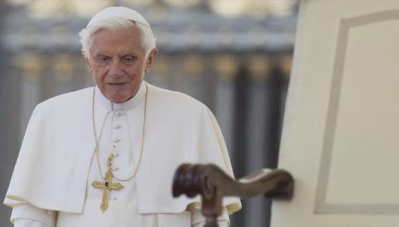 TRISTE. Benedicto XVI dijo sentirse afligido debido a este escándalo. (AP)