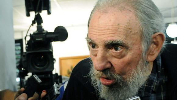 Fidel Castro durante votación en febrero del 2013 en La Habana. (AFP)