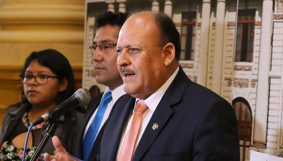 El congresista de Peruanos por el Kambio, Sergio Dávila, cuestionó a los renunciantes de su bancada. (Foto: Congreso de la República)