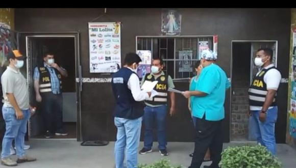 Piura: las autoridades allanaron viviendas de personas acusadas de robar medicamentos para pacientes COVID-19. (Foto: Fiscalía de Sullana)