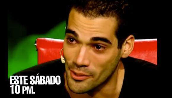 Guty Carrera en el sillón rojo de 'El valor de la verdad' (Latina)