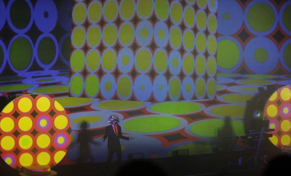 Pet Shop Boys tocó en Lima después de ocho años. Foto: Rafael Cornejo.