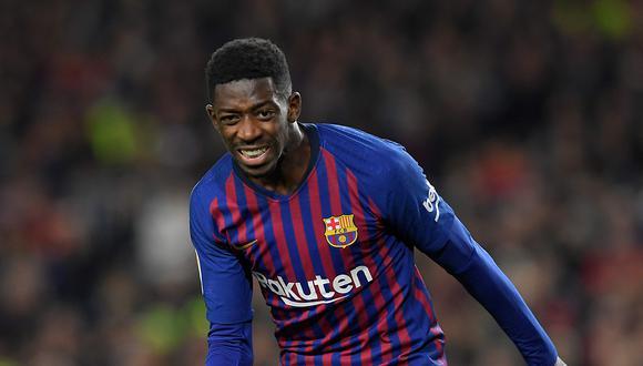 Dembélé lleva tres goles anotados en la Champions League. (Foto: AFP)