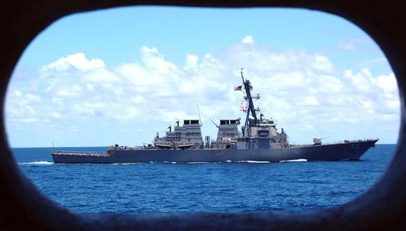 Navíos militares se acercan a Siria. (AFP)
