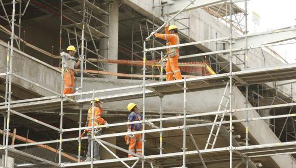 SIGUE EL BOOM. La Construcción es el sector que lidera el crecimiento de nuestra economía. (Manuel Melgar)