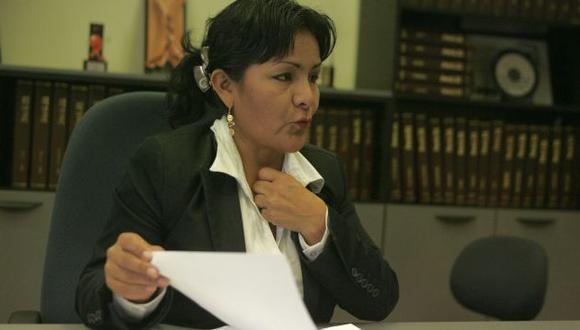 Corina de la Cruz habría agraviado a exdirector de la Ugel Tocache. (Perú21)