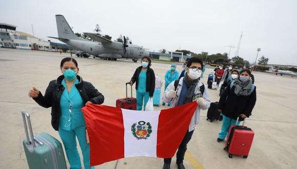 Huánuco: 64 médicos se integraron a hospital de campaña de Tingo Maria para luchar contra el COVID-19 (Foto referencial).