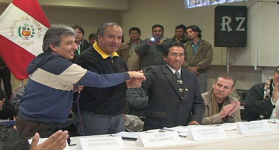Pulgar-Vidal encabezó comitiva del Gobierno en provincia cusqueña. (Andina)