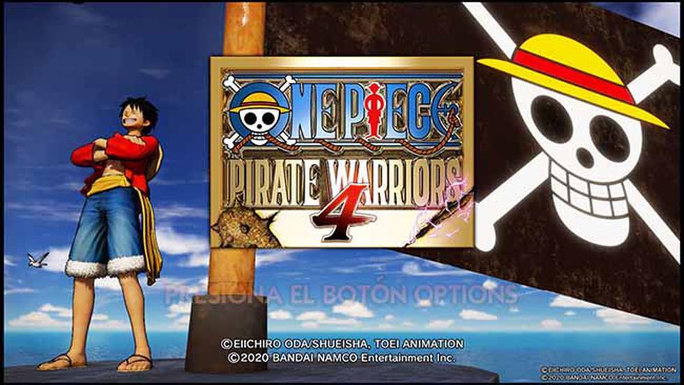 'Monkey D. Luffy' y su banda de piratas regresan en un nuevo videojuego.