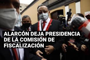 Edgar Alarcón dejó la presidencia de la Comisión de Fiscalización del Congreso