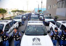 Municipio de Villa María del Triunfo pone en marcha 25 camionetas de Serenazgo en contra de la delincuencia