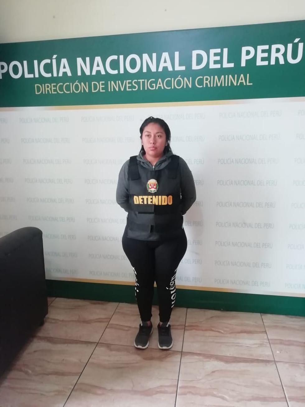 Parricida aseguró que mató a su madre porque la trataba mal. (Policía Nacional)