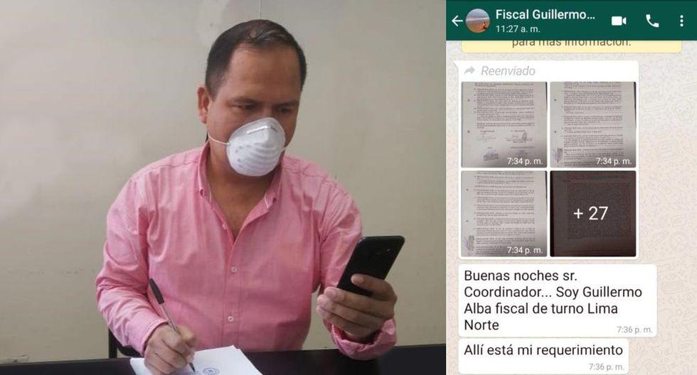 Los trámites en el Poder Judicial de Lima Norte se realizan a través de WhatsApp. (Difusión)