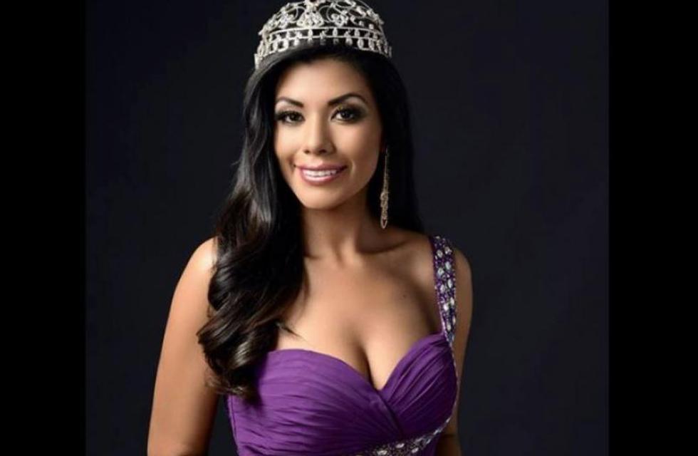 La reina de belleza Adriana Méndez fue arrestada hoy por sus vínculos con el narcotraficante boliviano Pedro Montenegro. (Facebook)