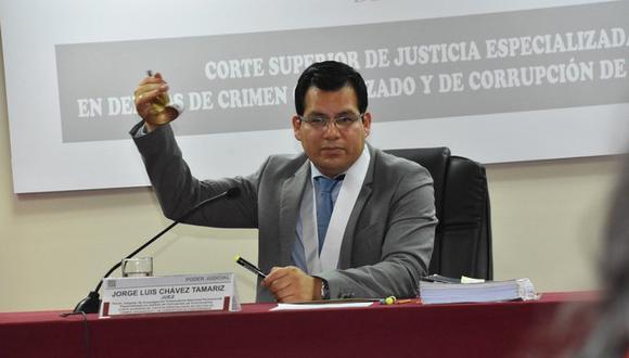 El juez Jorge Chávez Tamariz evaluó el pedido de la defensa de Monteverde el pasado miércoles. (Foto: Poder Judicial)