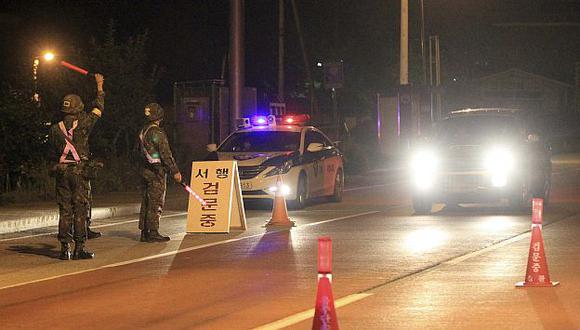 Ejército de Corea del Sur busca a soldado que mató a cinco compañeros y huyó. (Reuters)