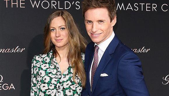 Eddie Redmayne y Hannah Bagshawe se convirtieron en padres de una niña. (Getty Images)