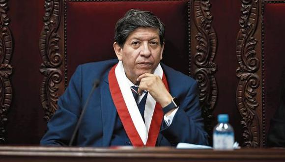 El magistrado Carlos Ramos aseguró que sí hubo una negativa a la confianza (GEC).