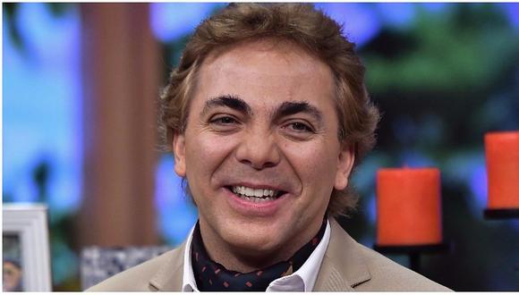 Cristian Castro, el hijo de Verónica Castro, bromeó con el hecho de predicar. (Captura de video)
